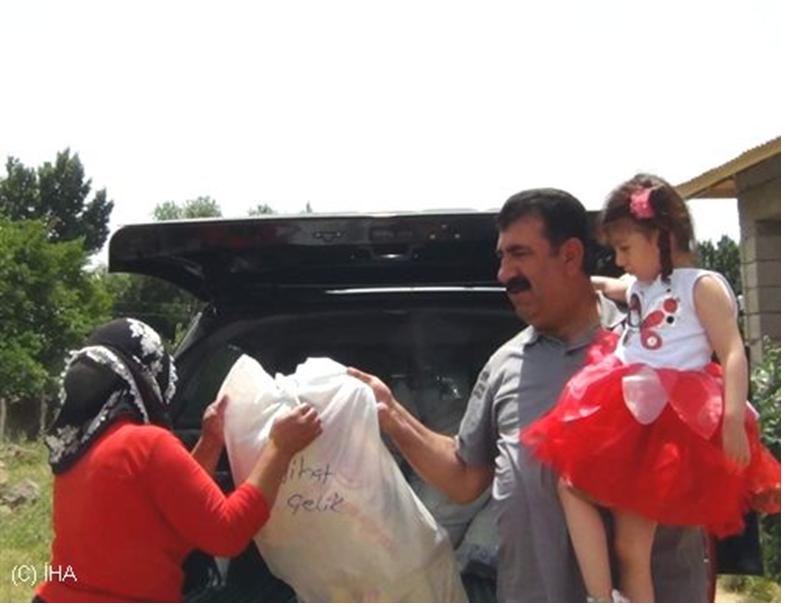 TÜDKİYEB Başkan Yardımcısı Çelik, Fakir Aileleri Unutmadı