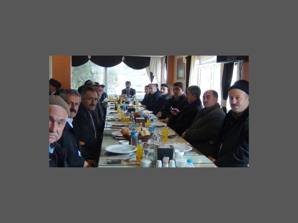 Erciş'te İstişare Toplantısı