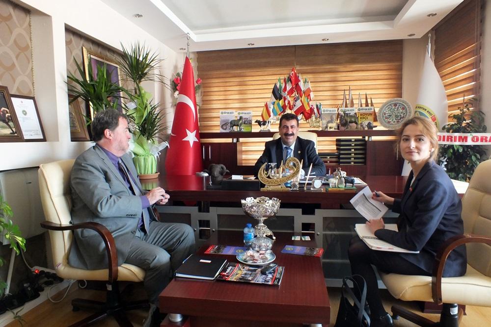 Kanada Heyetinden Merkez Birliğimize İşbirliği Ziyareti