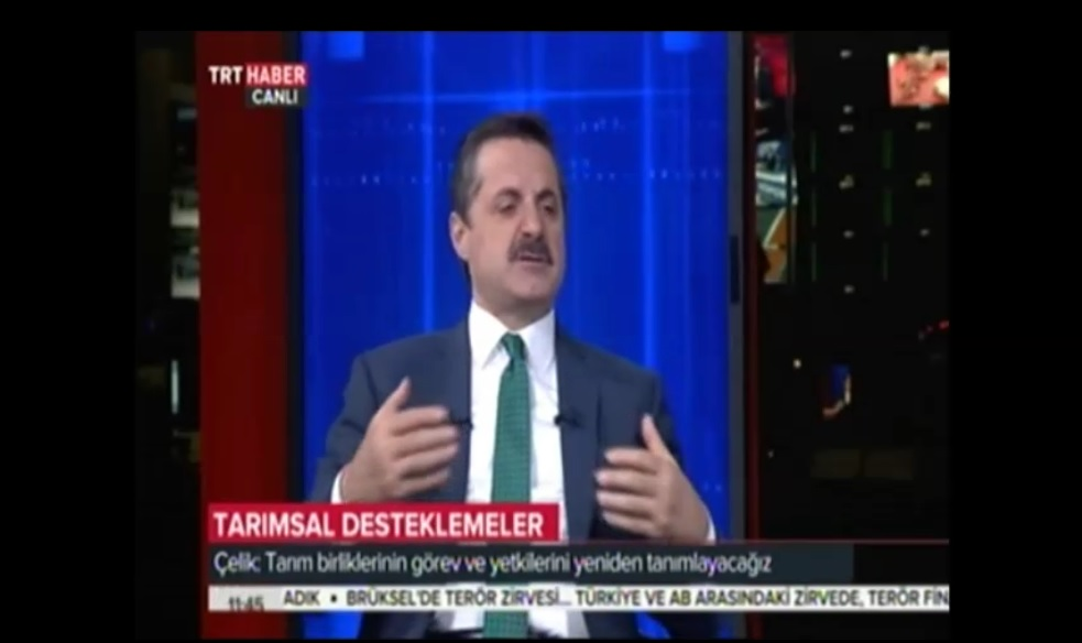 Bakan Çelik, TRT Haberde Önemli Açıklamalarda Bulundu