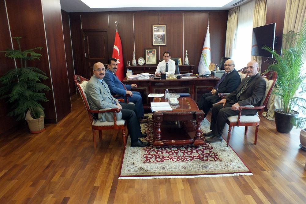 Genel Başkan Çelik ten Müsteşarlık Makamına Ziyaretler