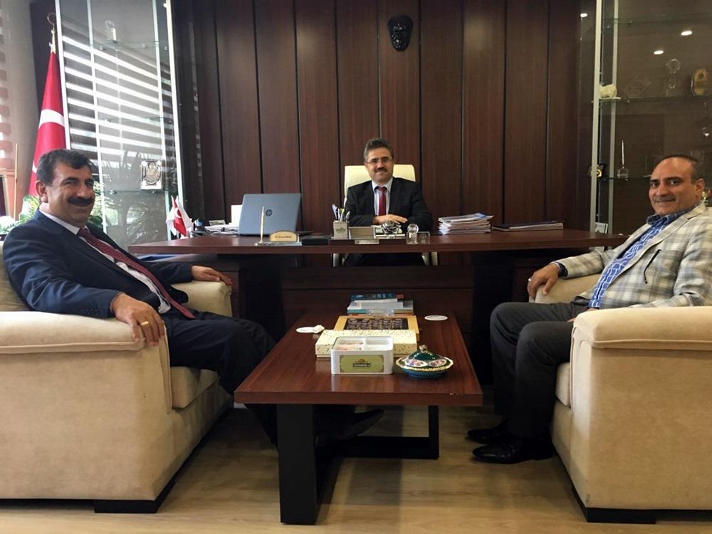 Nihat Çelik ten Tagem Ve ESK Genel Müdürlüğüne Ziyaret