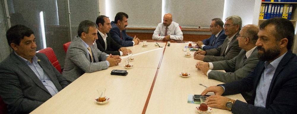 Merkez Birliği Heyetinden Ankara Bş. Belediyesine İşbirliği Ziyareti