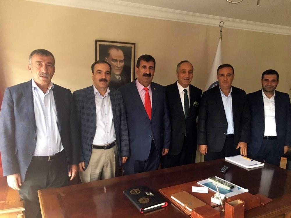 Milletvekillerinden TÜDKİYEB Genel Başkanı Nihat Çelik e Ziyaret