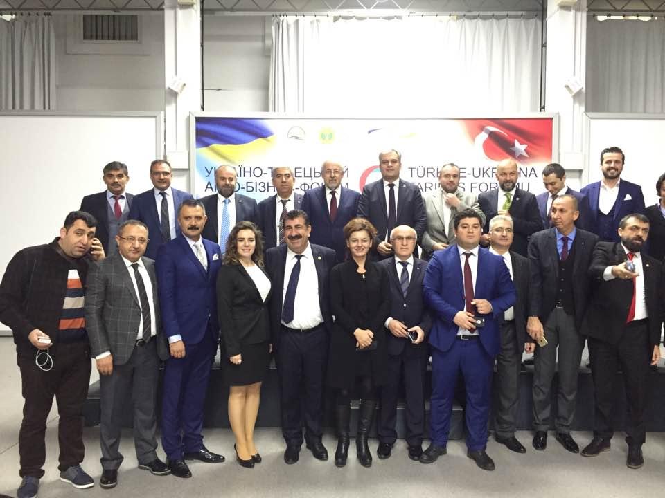 Türkiye-Ukrayna Tarım İş Forumu Kiev'de Düzenlendi