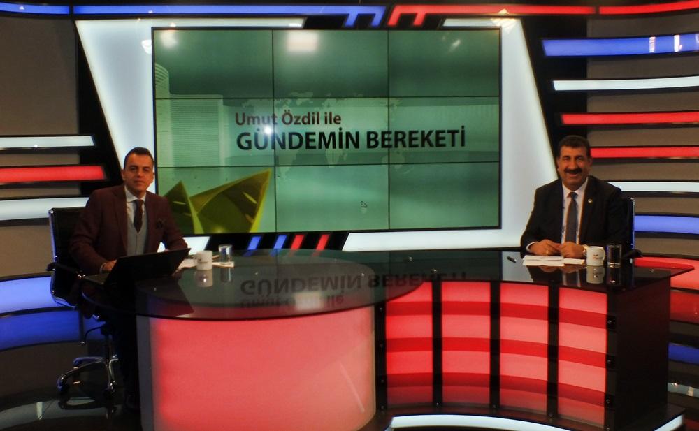 GENEL BAŞKAN ÇELİK, SEKTÖRÜN GÜNDEMİNİ BEREKET TV DE DEĞERLENDİRDİ.