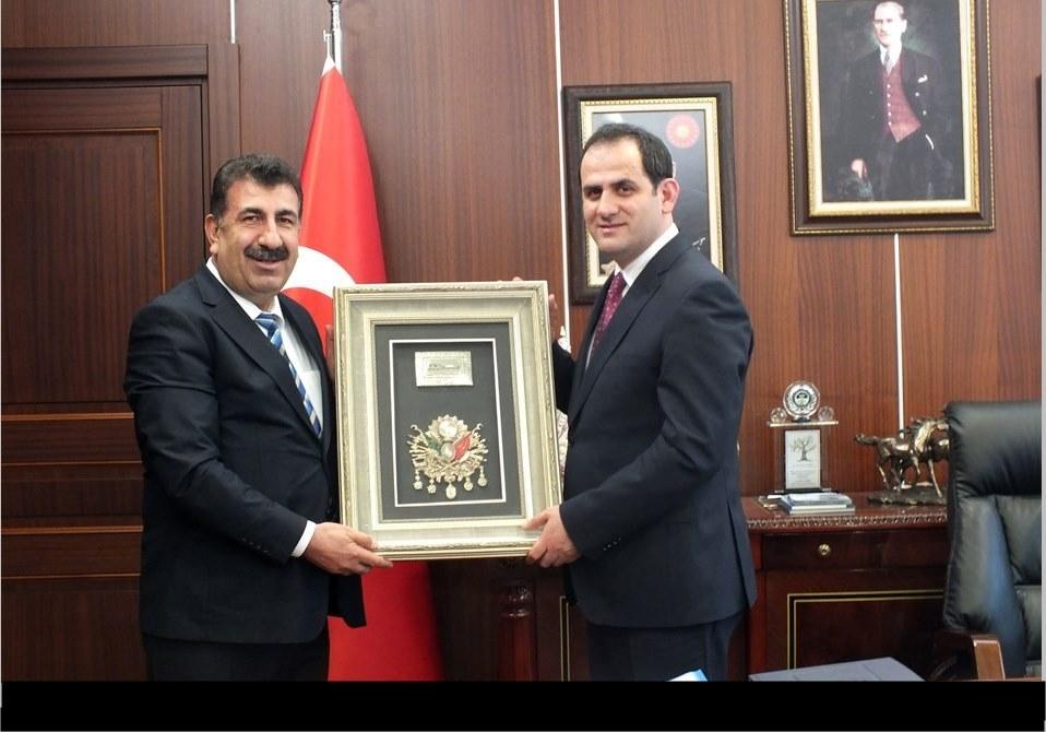 Genel Başkan Çelik ten Müsteşar Dr. Nusret Yazıcı ya Ziyaret