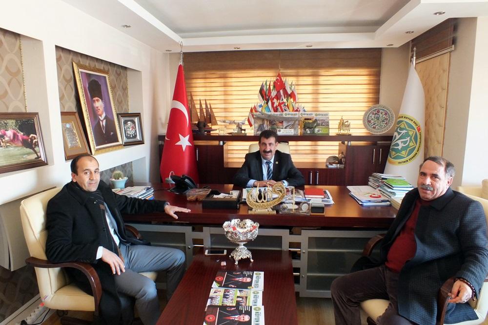 Erzurum, Elazığ, Ağrı Ve Iğdır Birliklerimizden Merkez Birliğimize Ziyaretler…