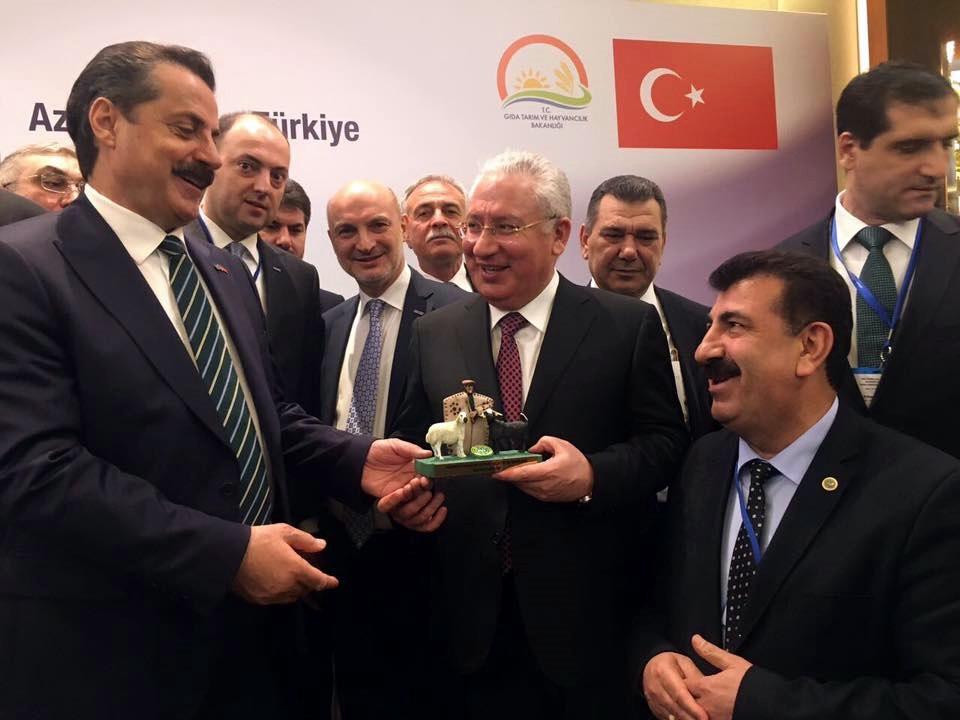 AZERBAYCAN-TÜRKİYE TARIM İŞ FORUMU YAPILDI