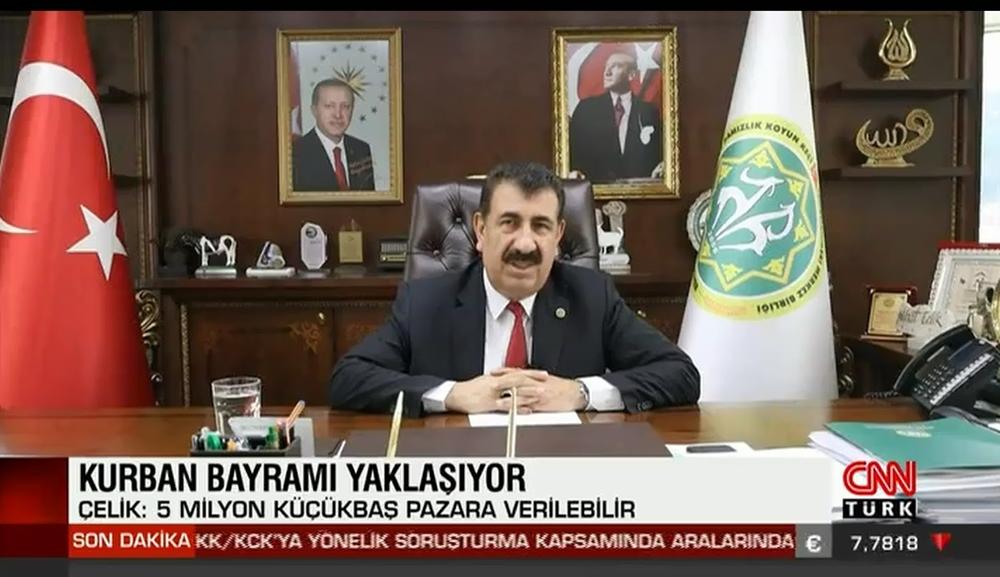 GENEL BAŞKAN ÇELİK, CNN TÜRK VE A PARA TV YE AÇIKLAMALARDA BULUNDU